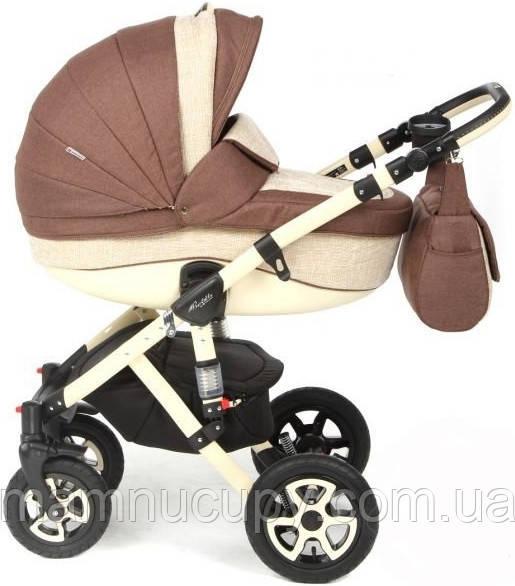 Детская универсальная коляска 2 в 1 Adamex Gloria 610K (адамекс глория)