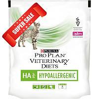 Лечебный сухой корм для кошек Purina Pro Plan Veterinary Diets HA Hypoallergenic 1,3 кг