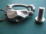 Нержавеющий отцепной карабин с винтом, А4 (AISI 316), фото 4
