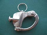 Нержавеющий отцепной карабин с винтом, А4 (AISI 316), фото 2