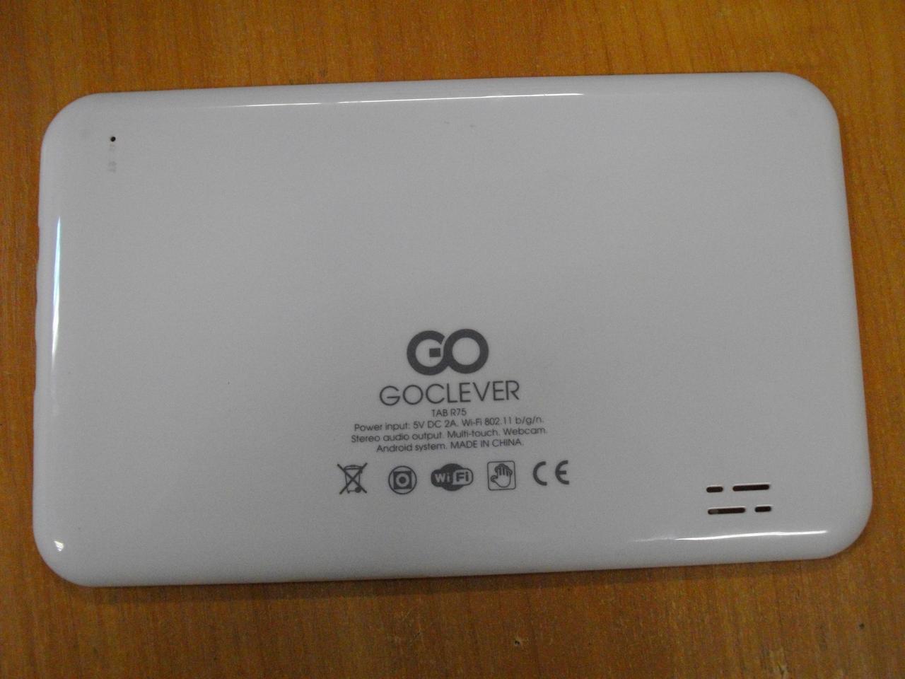 Корпус, кришка для планшета Goclever TAB R75, БО