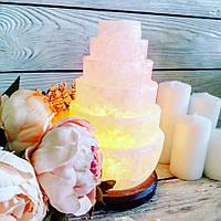 """Соляной светильник """"Пагода"""" тонкая 3-4 кг"""