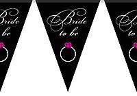 """Паперові гірлянди """"to be Bride """""""