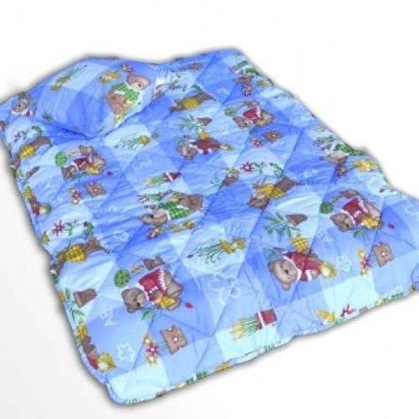 Детское закрытое силиконовое одеяло 110x140 с подушкой 50х50 T-54800, фото 2