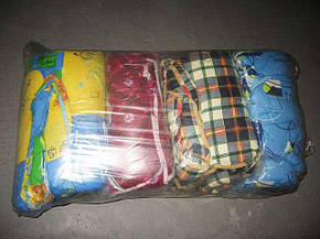 Детское одеяло закрытое однотонное овечья шерсть (Микрофибра) 110x140 T-54770, фото 2