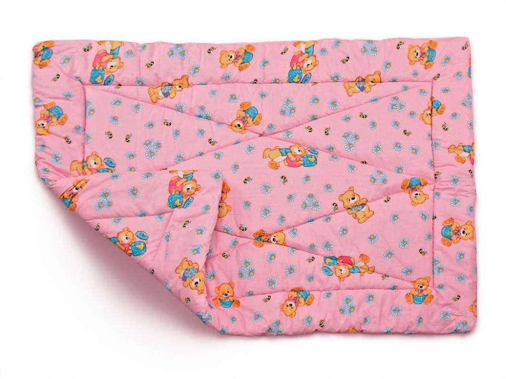Детское одеяло закрытое однотонное овечья шерсть (Микрофибра) 110x140 T-54772