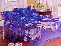 Комплект постельного белья от украинского производителя Polycotton Двуспальный T-90910, фото 3