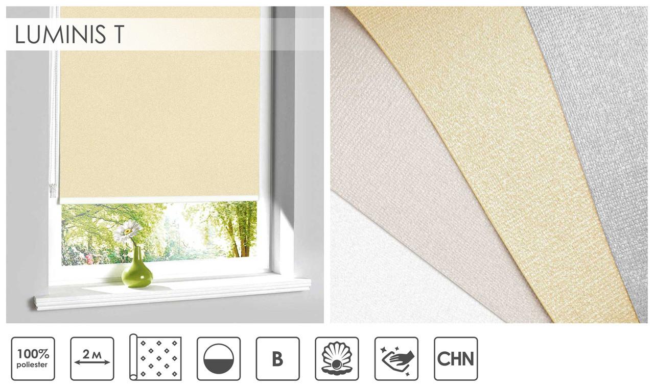 Рулонні штори Luminis T (4 варіанта кольору)