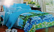 Комплект постельного белья от украинского производителя Polycotton Двуспальный T-90927, фото 3