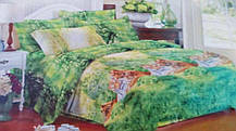 Комплект постельного белья от украинского производителя Polycotton Двуспальный T-90931, фото 3