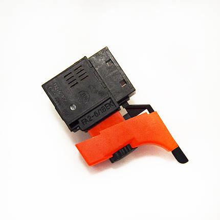 Кнопка 6А FA2-6/1BEK для дрелі Stern HD-10V, фото 2