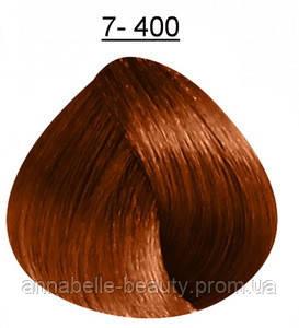 Стойкая крем-краска DUCASTEL Subtil Creme 7-400 - блондин медный насыщенный, 60 мл