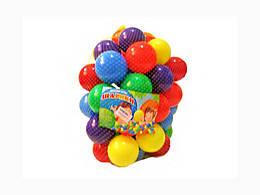 Шарики мягкие 80мм - 50шт, M-Toys, 12023