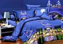 Комплект постельного белья от украинского производителя Polycotton Двуспальный T-90934, фото 2