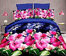 Комплект постельного белья от украинского производителя Polycotton Полуторный T-90946, фото 3