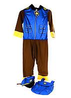 """M18-370177, Карнавальный костюм """"собачий патруль"""", детский, синий-разноцветный"""