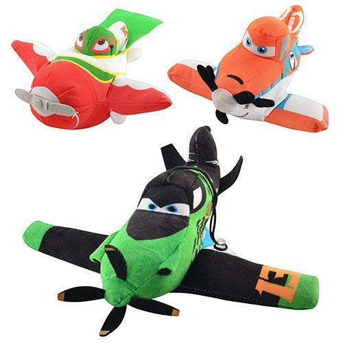 "Мягкая игрушка ""Самолет Летачки"" MP0010 3 вида"