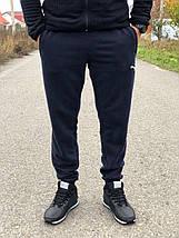 Мужские спортивные термо - штаны Puma манжет, фото 2