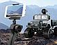 Радіокерований всюдихід вантажівка на гусеницях з відеокамерою FY001B Чорний, фото 4