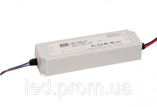 Блок питания Mean Well 100.8W DC48V IP67 (LPV-100-48)