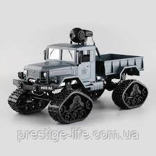 Радіокерований всюдихід вантажівка на гусеницях з відеокамерою FY001B Чорний