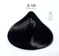 Стойкая крем-краска DUCASTEL Subtil Creme  2-10 сине-чёрный, 60 мл