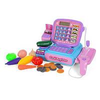 Игровой кассовый аппарат 1287 26 см развивающая игрушка для детей