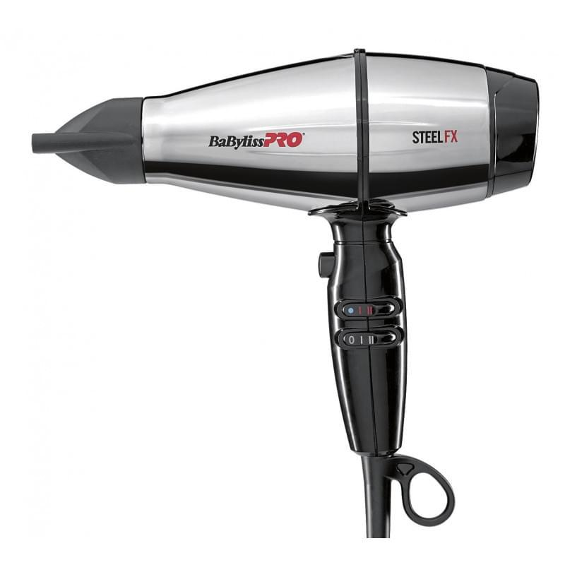 Профессиональный фен для волос BaByliss PRO SteelFX BAB8000IE Barber Spirit