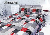 Комплект спального постельного белья ТИРОТЕКС - Тирасполь евро ткань Бязь - 100% хлопок
