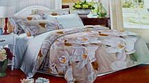 Комплект постельного белья от украинского производителя Polycotton Полуторный T-90948, фото 3