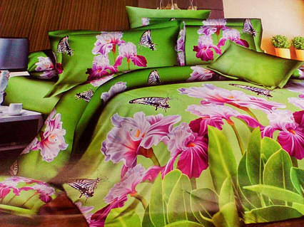 Комплект постельного белья от украинского производителя Polycotton Полуторный T-90957, фото 2