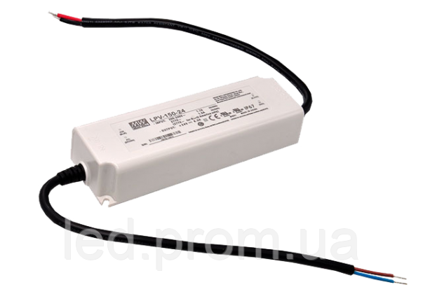 Блок питания Mean Well 153.6W DC24V IP67 (LPV-150-48)