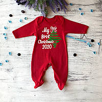 Человечек Новогодний для мальчика и девочки 2020. Размер 68 см