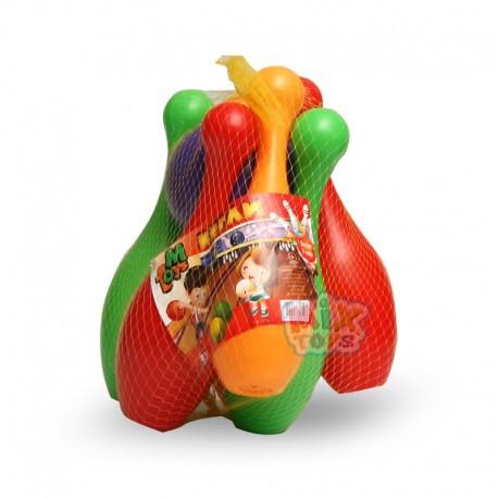 Кегли детские с 2 шарами, МР 50002