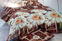 Комплект постельного белья от украинского производителя Polycotton Полуторный T-90965, фото 3