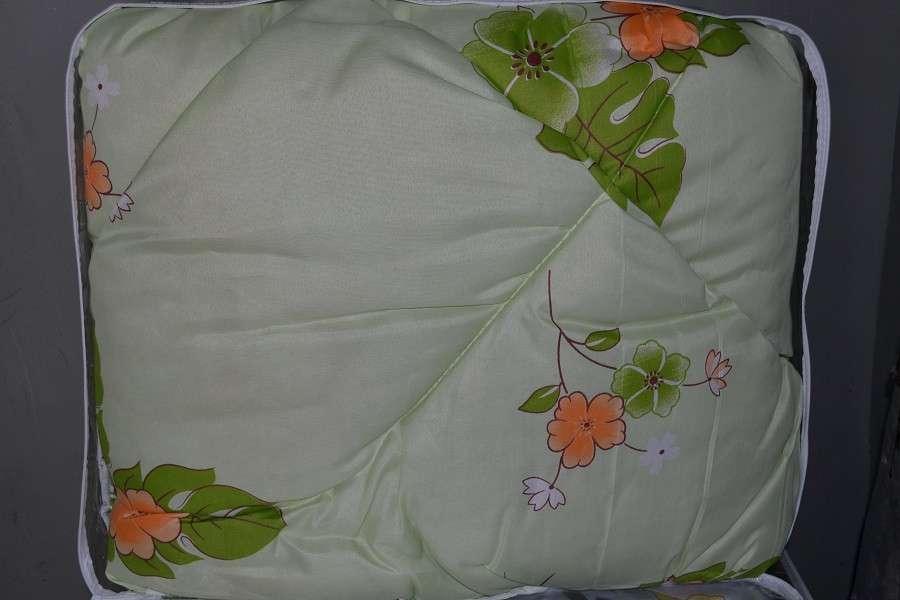 Одеяло закрытое овечья шерсть (Бязь) Двуспальное T-51023