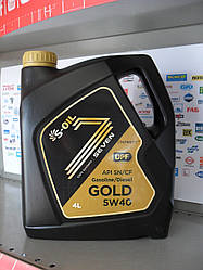 Моторное масло S-oil seven gold 5w40