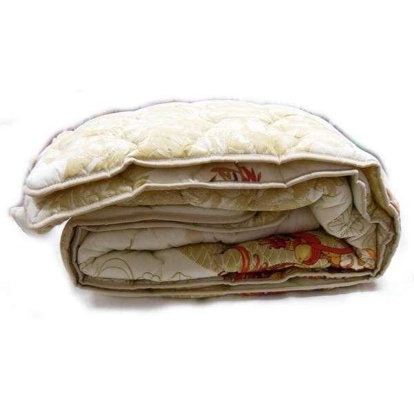 Одеяло закрытое овечья шерсть (Бязь) Двуспальное T-51100