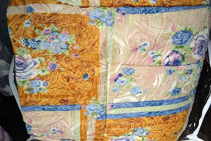 Одеяло закрытое овечья шерсть (Бязь) Двуспальное T-51189, фото 2