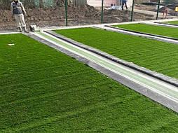 Укладка искусственной травы 60 мм, 4136 м2, с.Мировка, Кагарлыцкий р-н 8