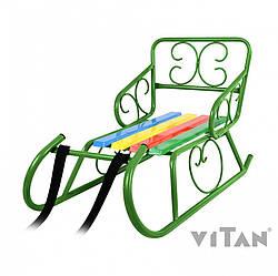 Санки Vitan + ремень, 7330