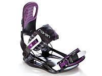 Крепление для сноуборда Raven Starlet Black/Violet 2020, фото 1