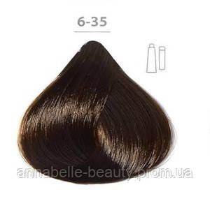 Стойкая крем-краска DUCASTEL Subtil Creme 6-35 тёмный блондин золотистый красное дерево, 60 мл