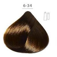 Стойкая крем-краска DUCASTEL Subtil Creme 6-34 тёмный блондин золотистый медный, 60 мл