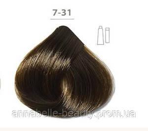 Стойкая крем-краска DUCASTEL Subtil Creme 7-31 золотистый блондин пепельный, 60 мл