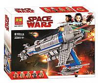 """Конструктор Bela 10914 """"Бомбардировщик Сопротивления"""" (аналог Lego Star Wars 75188), 810 дет"""