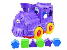 Детская игрушка Паровозик-сортер Орион 218