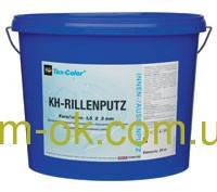 KH -Rillenputz  штукатурка акриловая короед, 25 кг Короед 1,5мм.