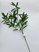 Декоративная ветка оливы(85 см)