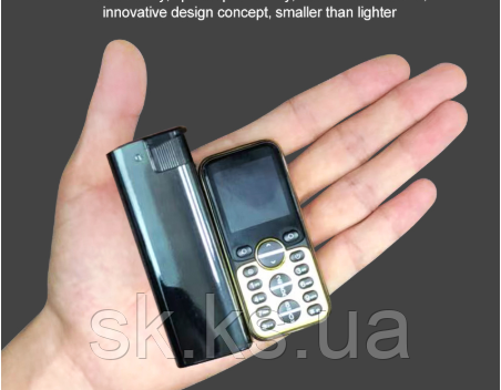 ACC 1609 (2 sim) - bluetooth  мини телефон